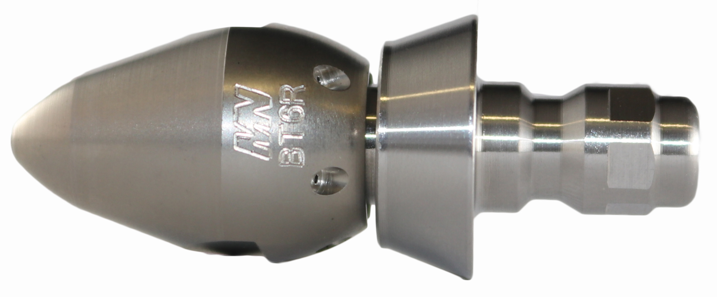 "Bandit Thruster Nozzle with SS Quick Connect Nozzle Adaptor with 1/4"" Cone"