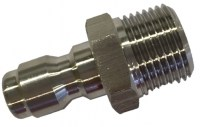 3/8'' Male Connector Short