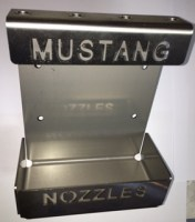 Mustang Nozzles SS Nozzle Rack