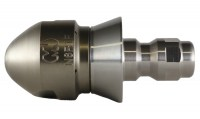 "Negotiator Invader Nozzle with SS Quick Connect Nozzle Adaptor with 1/4"" Cone"